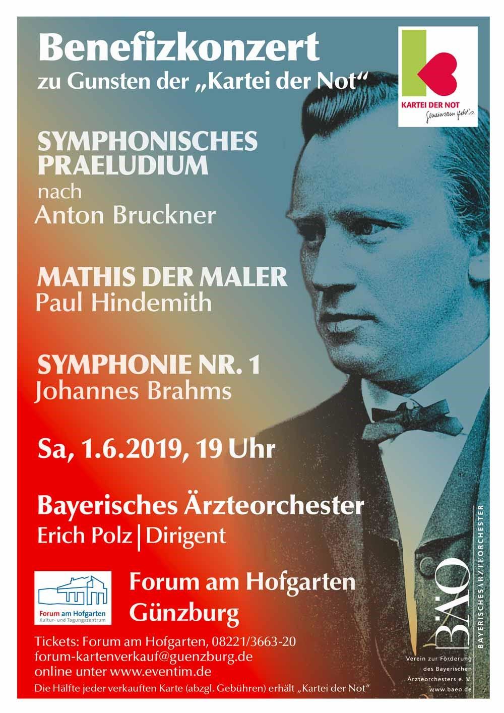 Bayerisches Ärzteorchester, Benefizkonzert zu Gunsten der